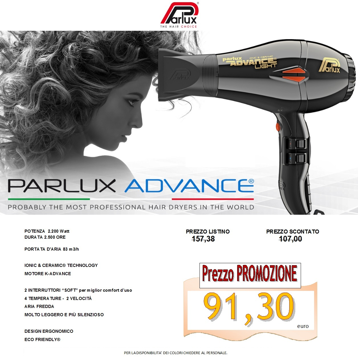 parlux advance x sito